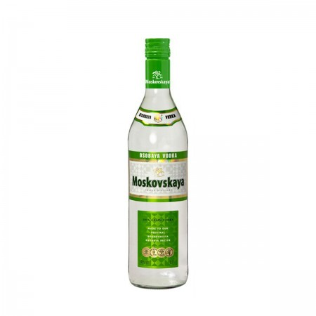 VODKA  MOSKOVSKAYA BOT 70 CL 38º