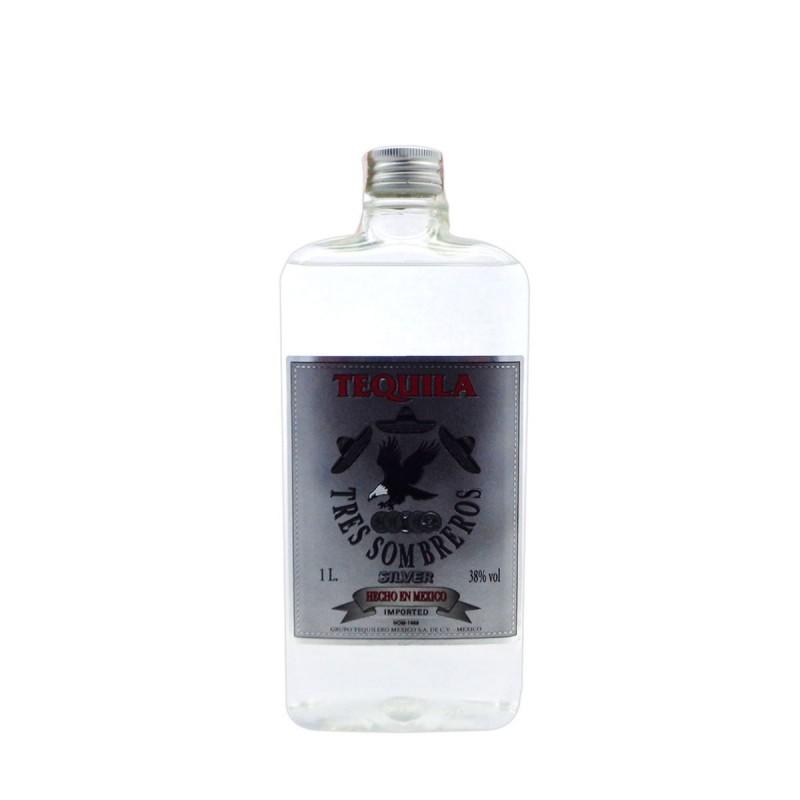 Tequila Tres Sombreros Silver 1L