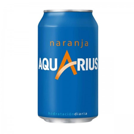 Aquarius Naranja Lata 33cl