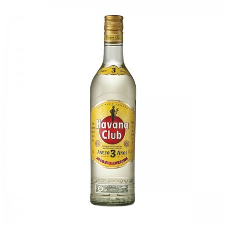 RON HAVANA CLUB 3 AÑOS BOT 70 CL. 40º
