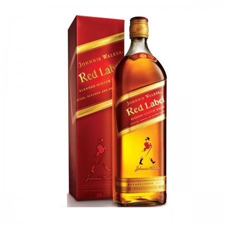 WHISKY JOHNNIE WALKER RED LABEL BOT 1 L. 40º