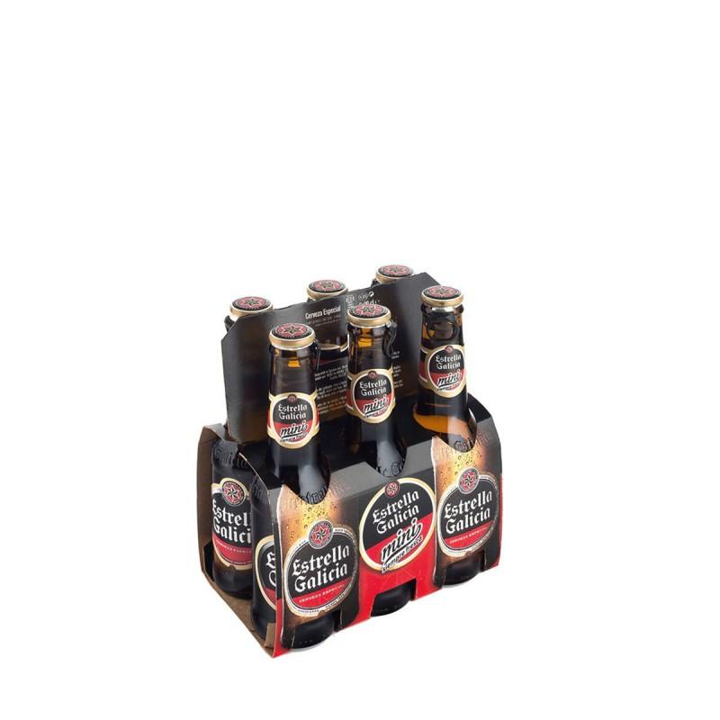 Cerveza Estrella Galicia 20cl P-6