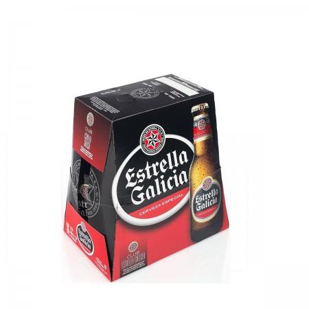 Cerveza Estrella Galicia 25cl P-6