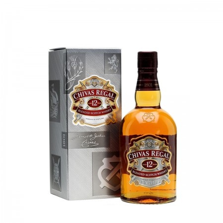 WHISKY CHIVAS REGAL 12 AÑOS BOT 70 CL. 40º