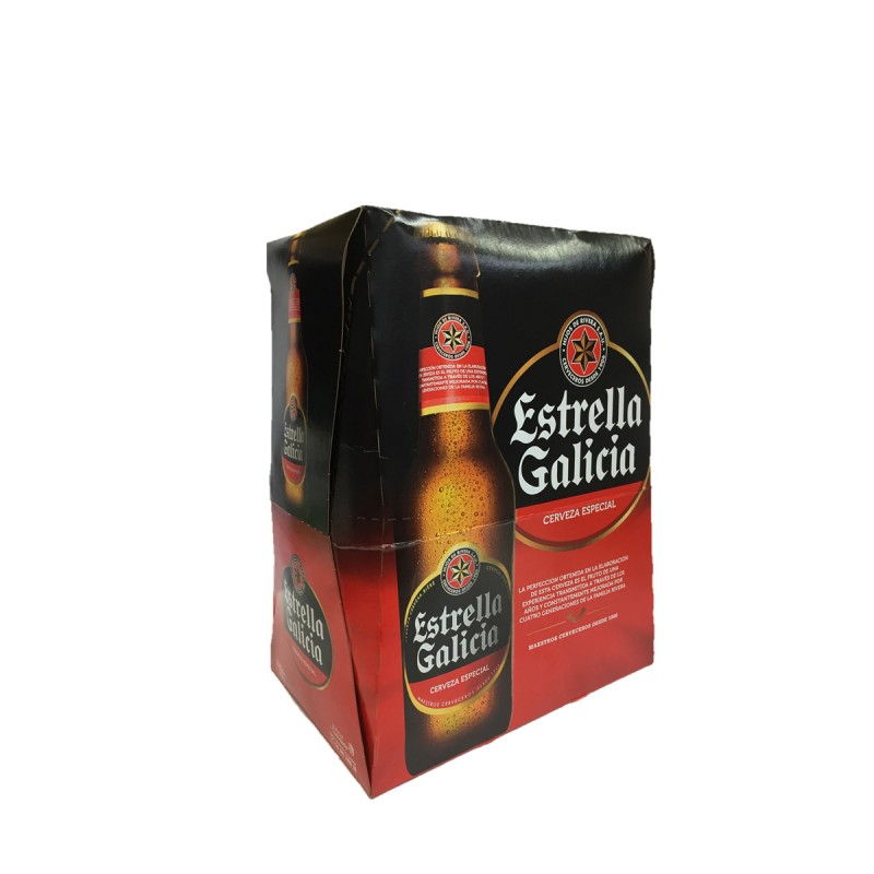 Cerveza Estrella Galicia 33cl P-6