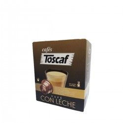 CAFE CON LECHE CAPSULAS COMP DOLCE GUSTO 16UDS